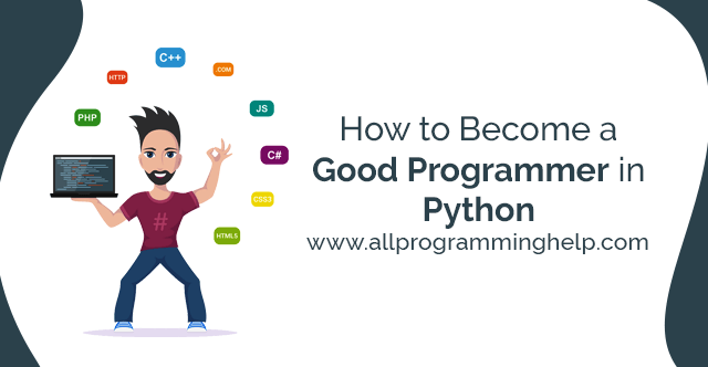 how to become a good programmer in python