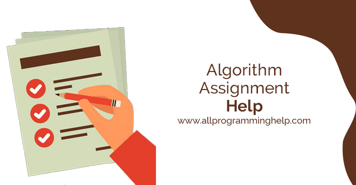 Algoritham assignment help